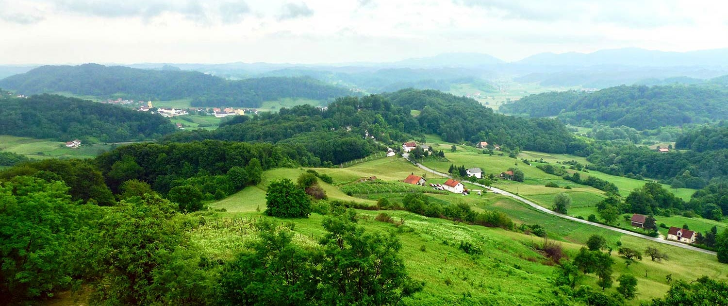 Central Croatian countryside