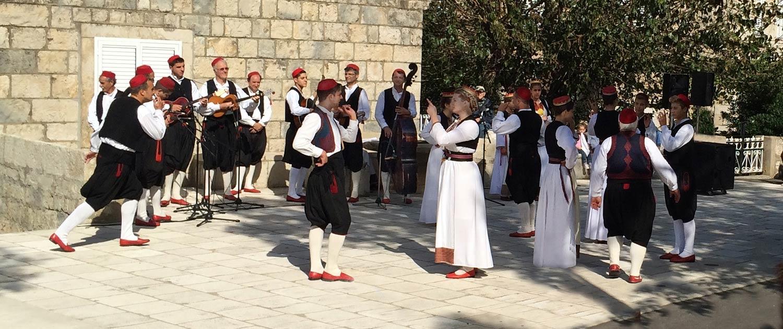 Traditional music and dance, Cilipi, Dalmatia