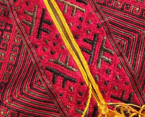 100-year old poprsnica embroidery, Konavle, Dalmacija