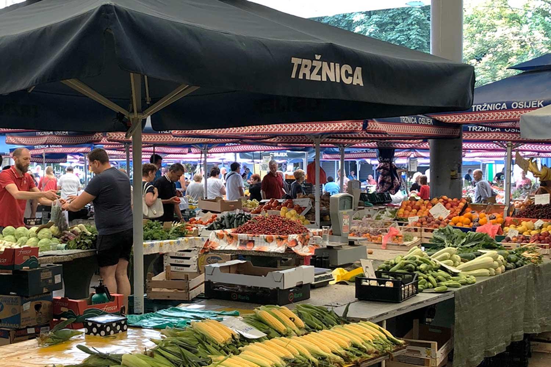 Trznica Osijek farmer's market