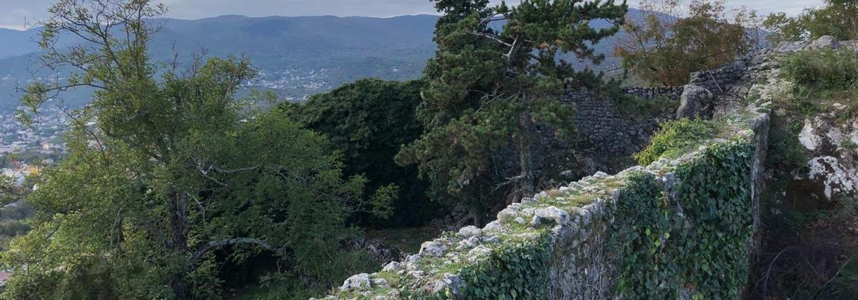 Ancient Kastav walls