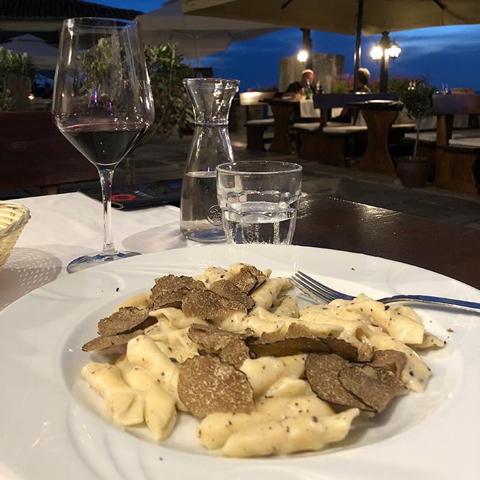 Teran and truffles